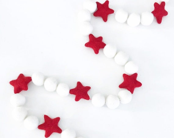 Christmas Star Garland