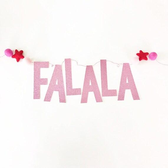 FaLaLa Christmas Banner