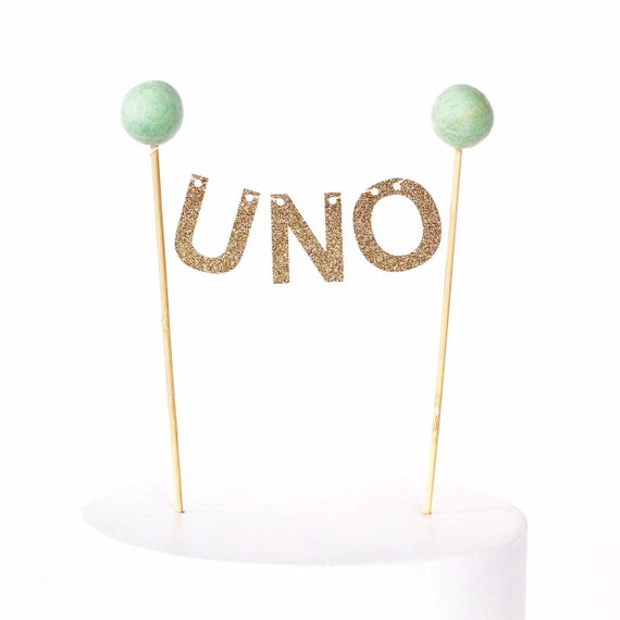 Uno Cake Topper Bunting