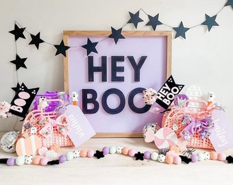 Star Banner   Halloween Star Garland   Glitter Cardstock Star Banner   Star Decorations   Fall Banner   Halloween Home Decor   Spooky