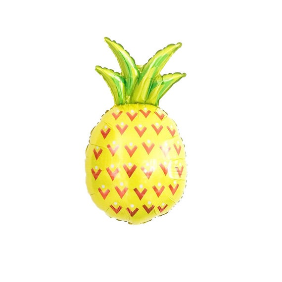 Pineapple Balloon | Luau | Aloha | Summer Party | Summer Birthday | Bachelorette | Foil Pineapple