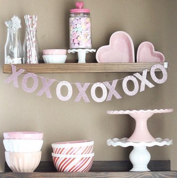 Xo Banner / XOXO / Valentine's Day Banner / Valentine's Day Decor