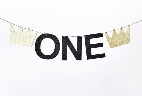 Wild One High Chair Banner / ONE Highchair Banner / Where The Wild Things Are Cake Smash Banner / Wild One Birthday Boy / 1st Birthday Sign
