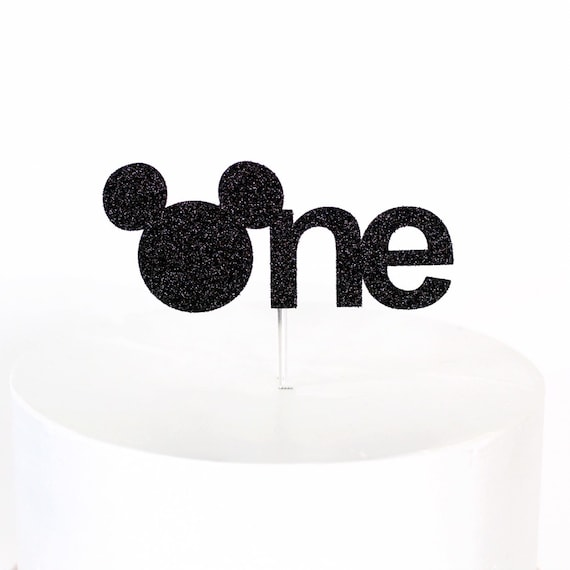 Mickey Mouse One Cake Topper