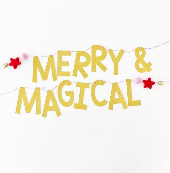 Merry & Magical Banner