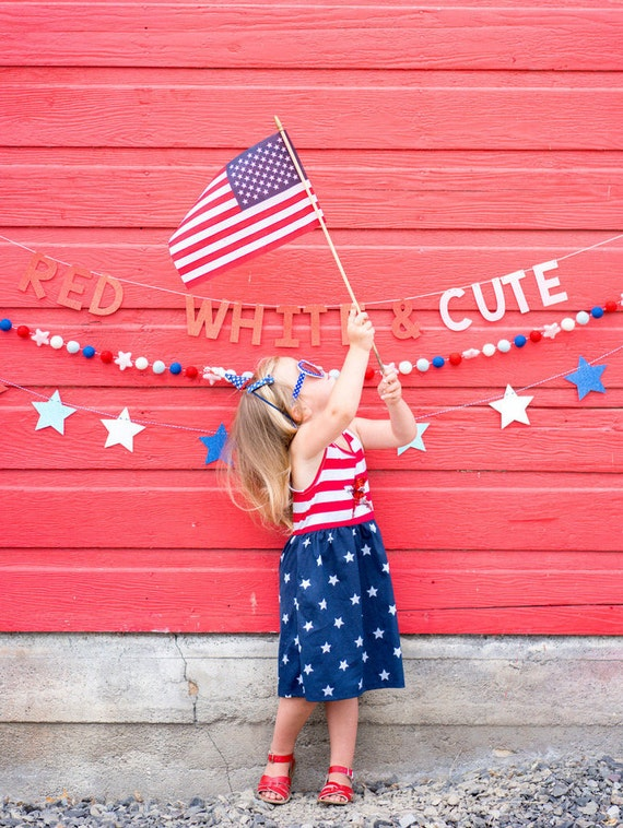 Red White & Cute Banner