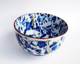 "Kintsugi bowl. Japanese ceramics Collection ""Haru"" RF. 583"