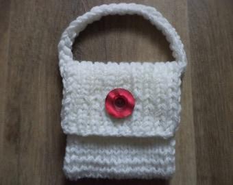 knitted bag 11cm