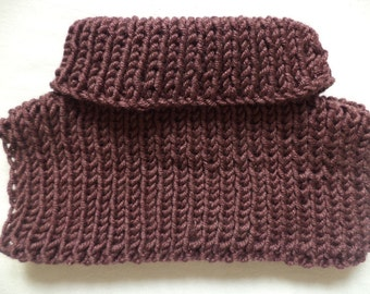 Baby shawl neck knitted Merino Wool knitted scarf Schlupfschal