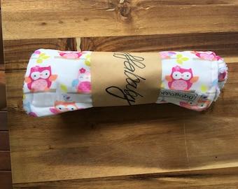 100% cotton owl cloth