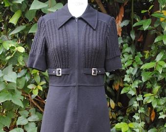 Dress black 1960