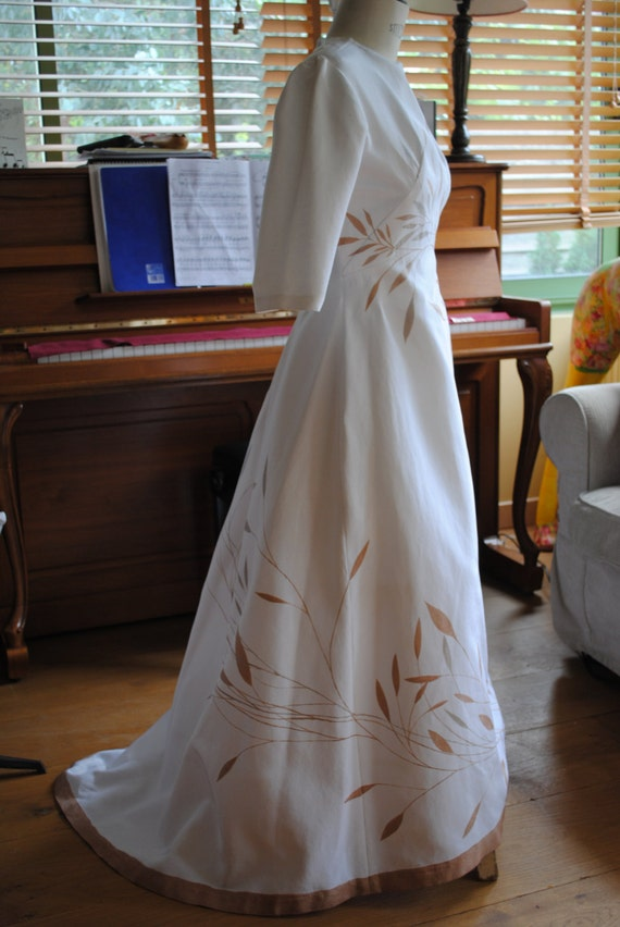 Rare wedding dress 1950s