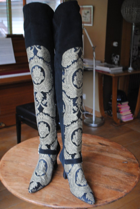 """Seducta"" thigh-high boots T:7"