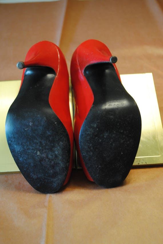 Red 1950's shoes - size: 35 - image 3