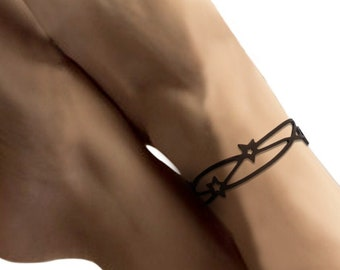 Ankle chain Star, celestial/cosmic/sky/universe, fantasy, silicone