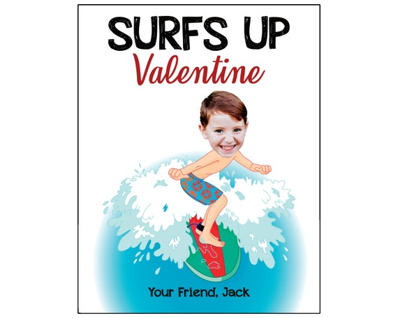 Illustrated cards I love you Surfer girl Valentines Day Cards Surfer Cupid Anniversary Love Cards You are my Universe Love Potion
