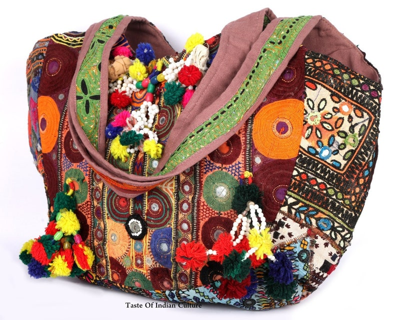 b9eaffe399 Vintage Embroidered Banjara Handmade Bag Ethnic Patchwork | Etsy