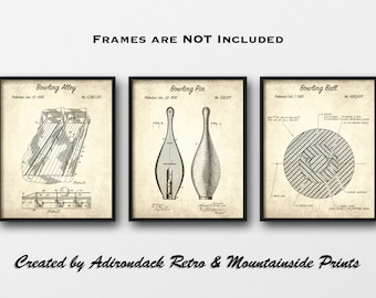 photograph about Printable Bowling Lane Diagram named Bowling alley decor Etsy