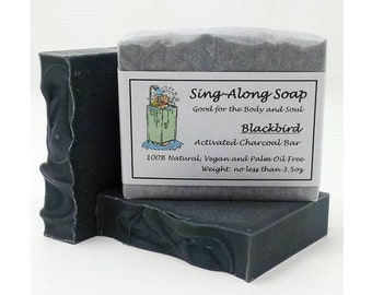 ACTIVATED CHARCOAL Soap, Acne Soap, Vegan Soap, Essential Oil Scented Soap, Natural Soap, Soap Made in the USA