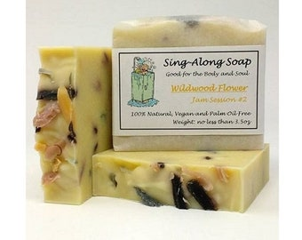 FLORAL Soap, Vegan Soap, Essential Oil Scented Soap, Natural Soap, Soap Made in the USA