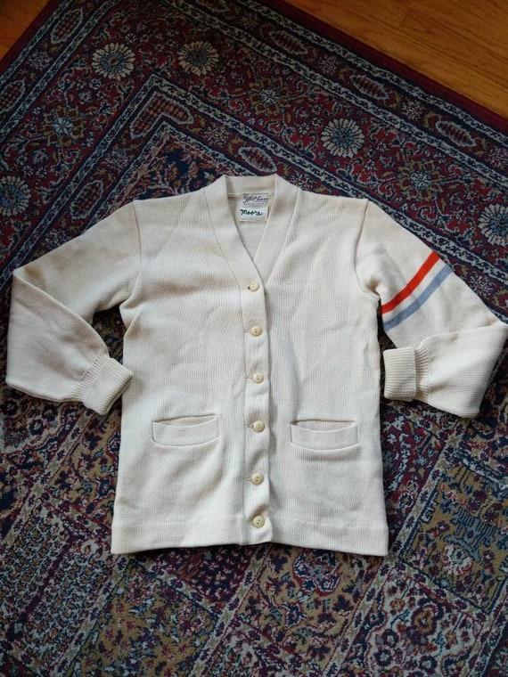 Vintage 40s 50s Albion Knitting Mills Sweater Vars