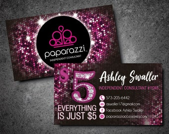 Paparazzi business cards etsy reheart Images