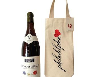 Philadelphia Wine Tote | Philly themed bag