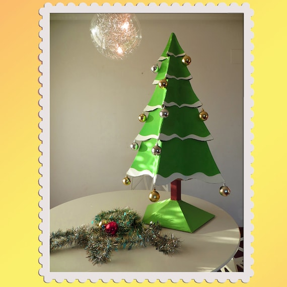 Cardboard Christmas Tree.Cardboard Christmas Tree Diy