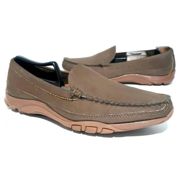 Allen Edmonds BOULDER Brown Leather Venetian Drivi