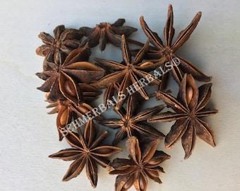Star Anise, Illicium verum, Whole Flowers ~ Schmerbals Herbals®