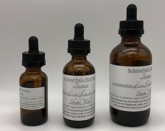 Mugwort, Artemisia vulgaris, Organic 2X Tincture / Liquid Extract ~ Schmerbals Herbals®