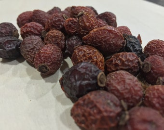 Rose Hips, Rosa canina ~ Sacred Herbs and Spices from Schmerbals Herbals