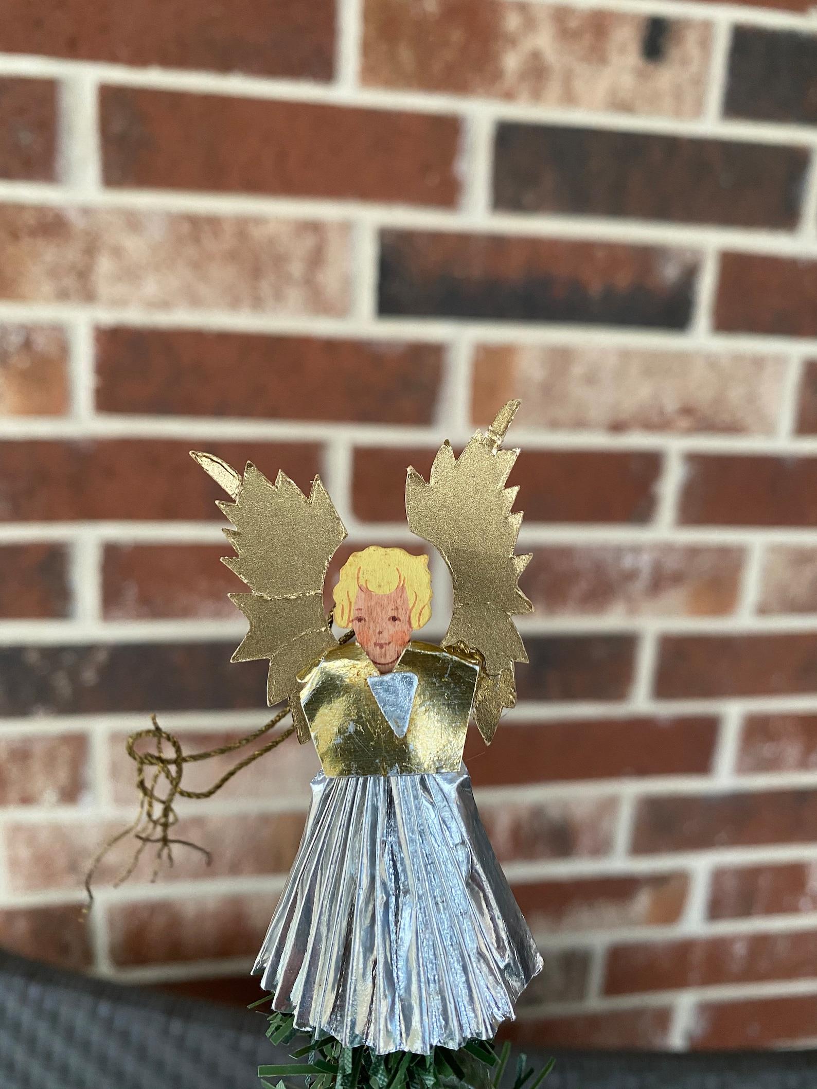 Vintage German Angel Tree Topper