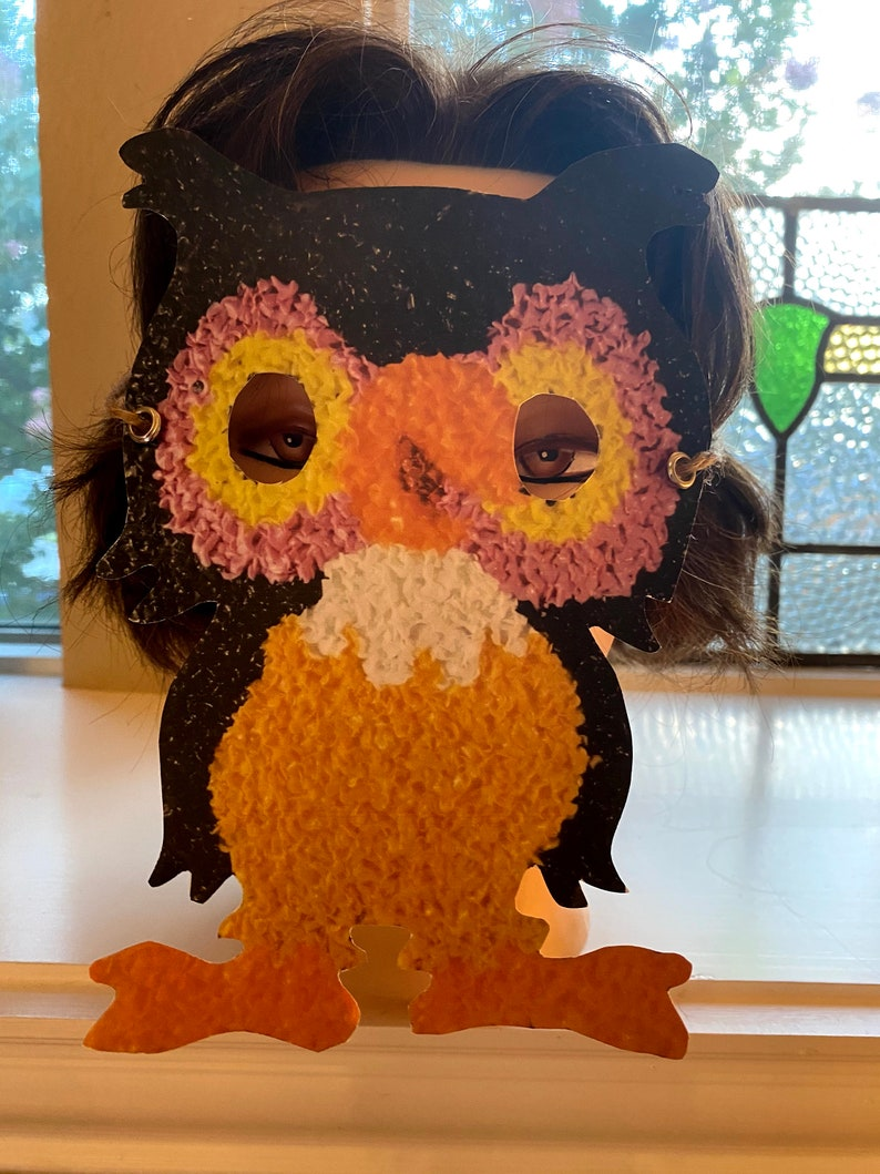 Vintage Style Owls Cardstock Paper Halloween MASK Costume Masquerade Party Accessory,Dress Up,Decoration,Party Favor Adult /& Kid