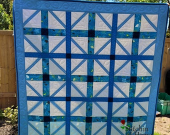 Woven PDF Digital Quilt Pattern
