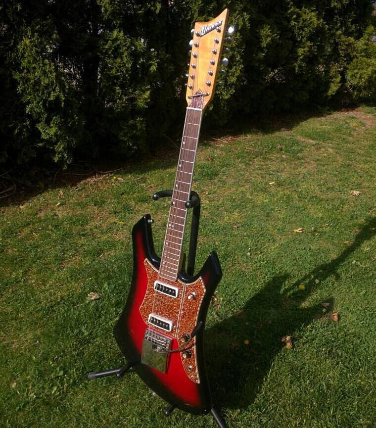 Univox guitars serial numbers