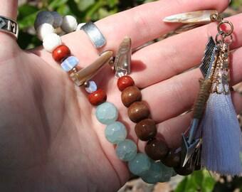 Skadhi/Skadi Heathen and Pagan Prayer Beads