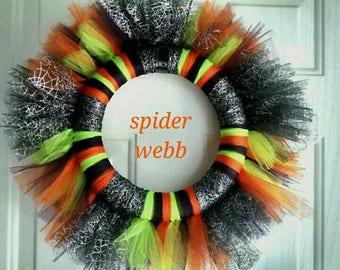 Halloween Tulle Wreaths