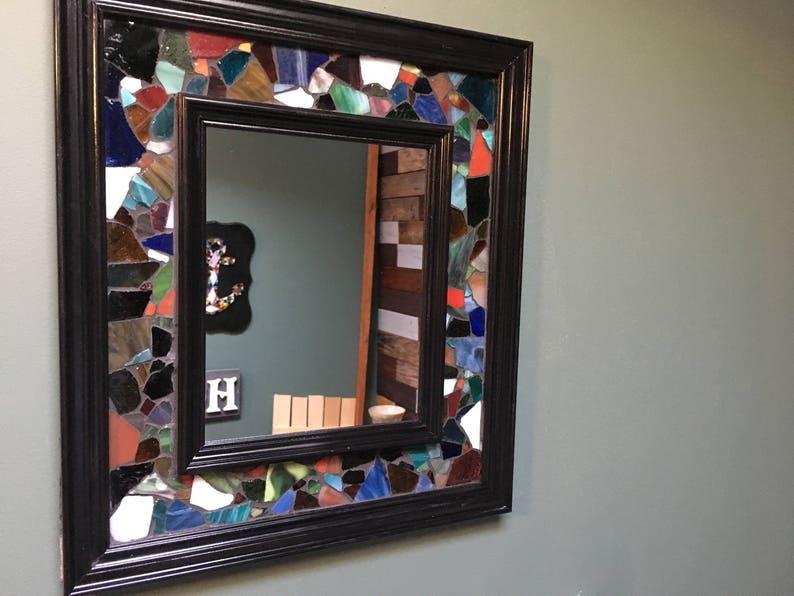cd954f7ca536 Sea Glass Decorative Accent Mirror Available in Multiple