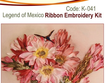Legend of Mexico Ribbon Embroidery Kit