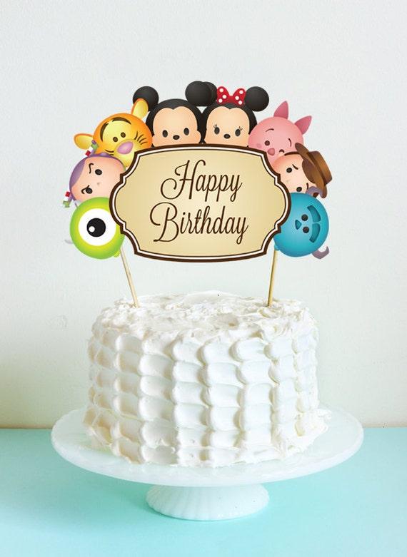 Tsum Tsum Birthday Party Supplies
