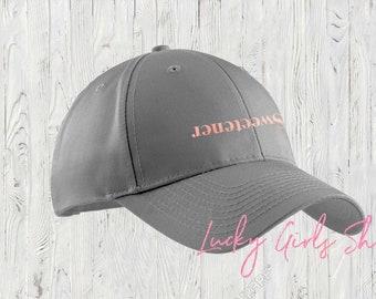 f1d11fdc211 Sweetener Hat. Baseball Hat. Womens Baseball Hat. Made by Lucky Girls Shop