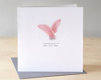 Congratulations card. Free P&P