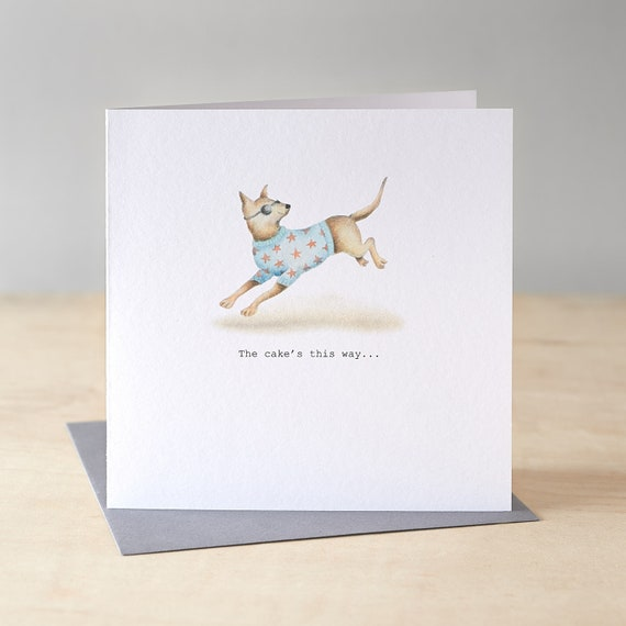 Great Dane birthday card