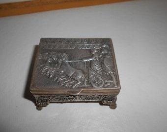 silver pil box