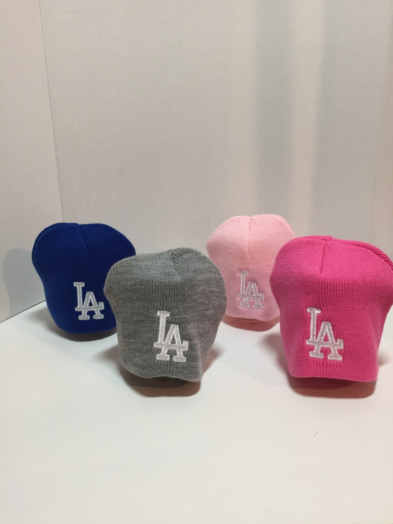 24218f1f2 Los Angeles Dodgers Infant Hat, Los Angeles Dodgers knitted hat, Dodgers  Baby Hat,Los Angeles Dodgers Infant knitted hat