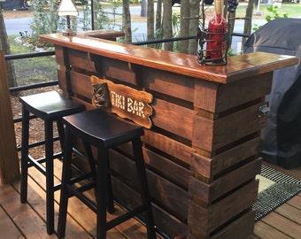 pallet furniture desk. The Kona ~ Pallet Bar / Tiki \u2022\u2022 October Sale \u2022\u2022This Is Most  Incredible True Indoor \u0026 Outdoor You Can Buy. Pallet Furniture Desk