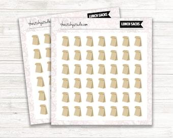 Lunch Sacks | Planner Stickers | TheStickyStudio