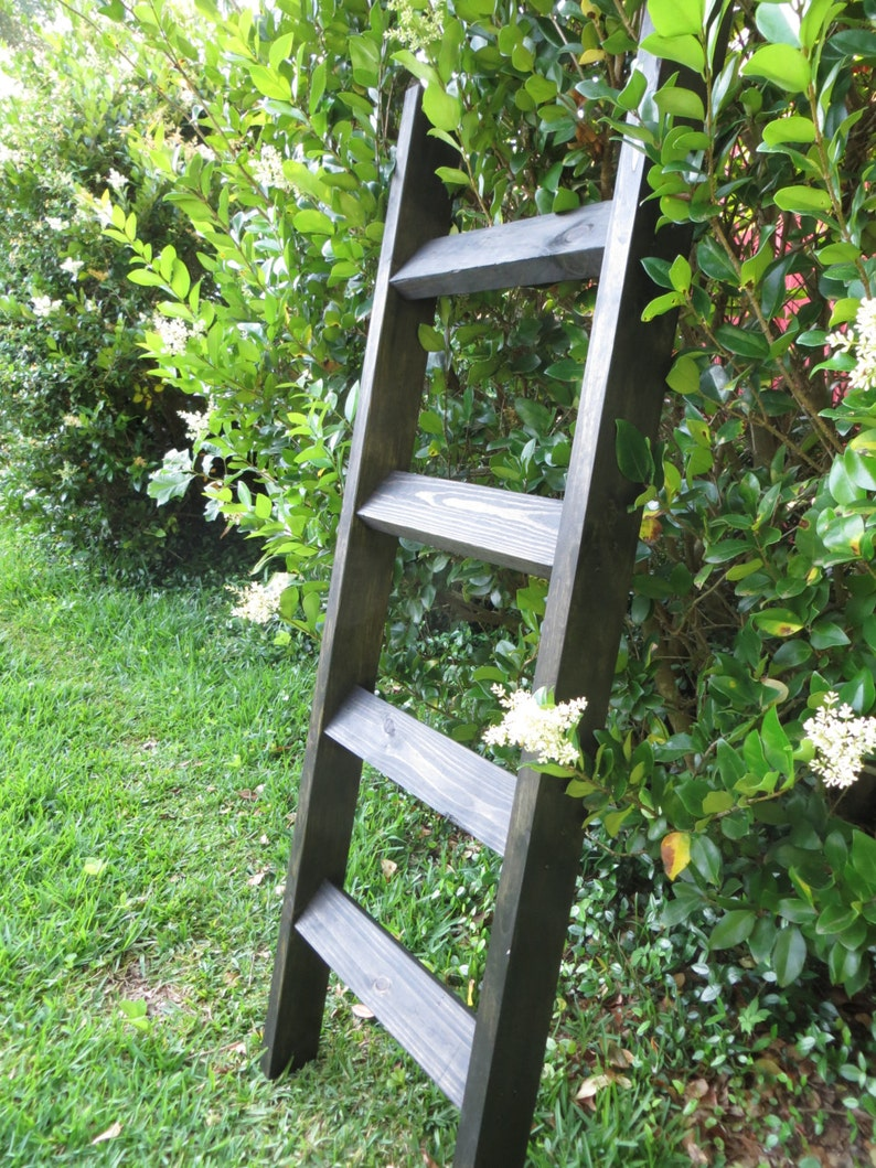 Blanket Ladder 5 Ft Farmhouse Home Decor Farm House Decor Etsy