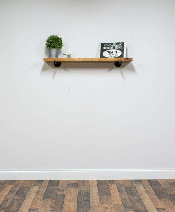 40 Inch Deep Reclaimed Style Floating Shelves On Wall Etsy Unique 10 Inch Deep Floating Shelves